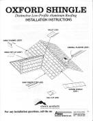 Click to view Classic Oxford Shingle Installation Manual