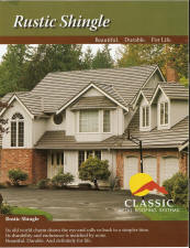 Click to view Classic Rustic Shingle brochure