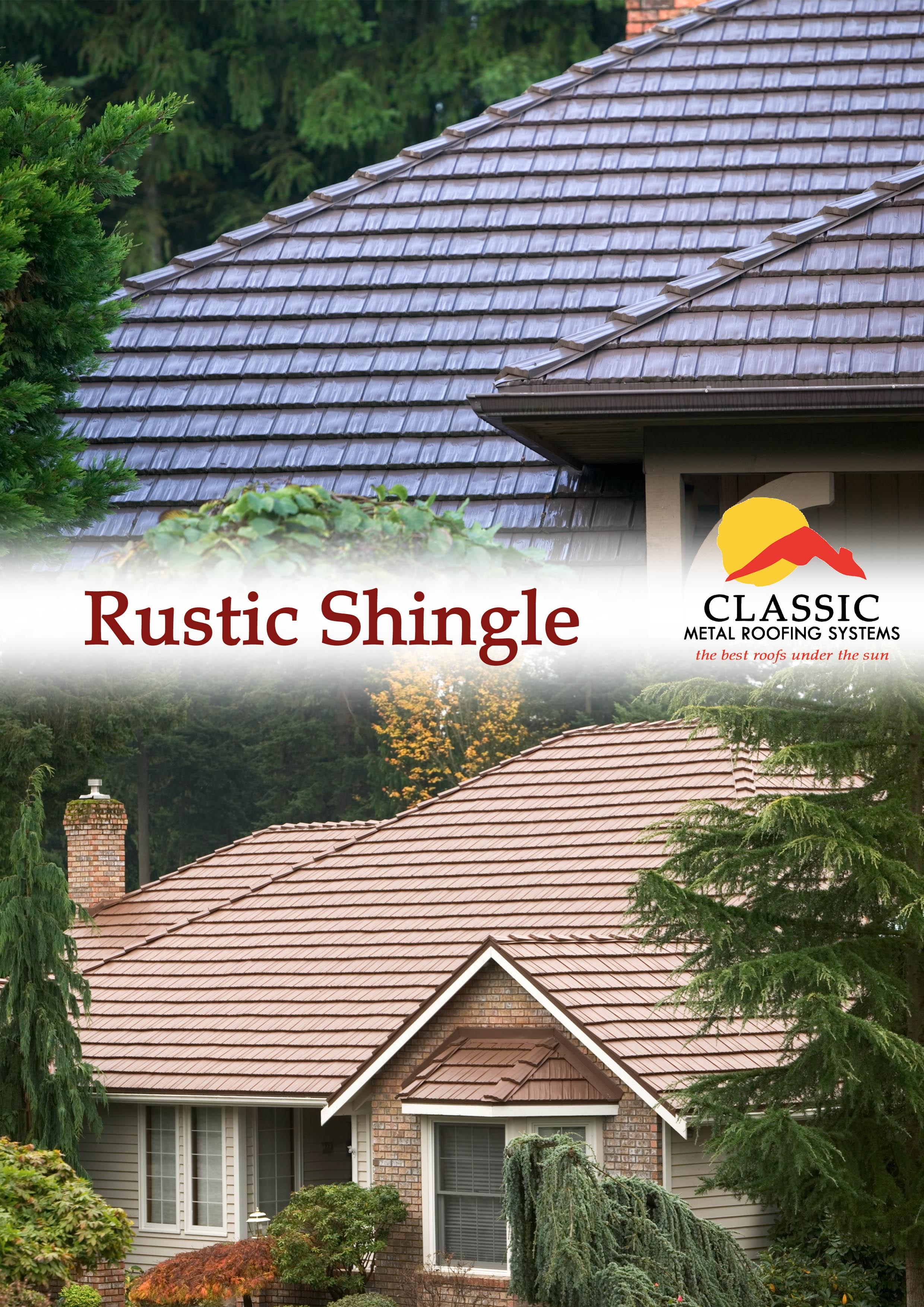 Rustic shingle photo album for Classic shingles